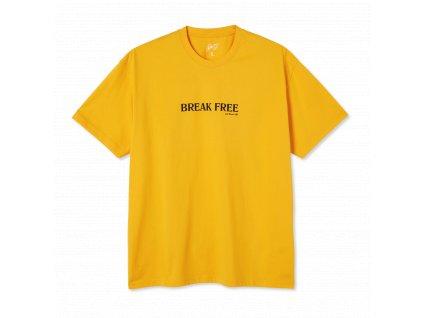 Triko Last Resort AB Break Free Tee Cheddar