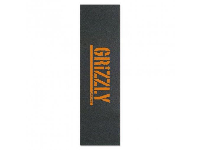 Grip Grizzly Stamp Print Orange (9 palců)