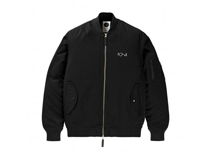 Bunda Polar Bomber Jacket Black