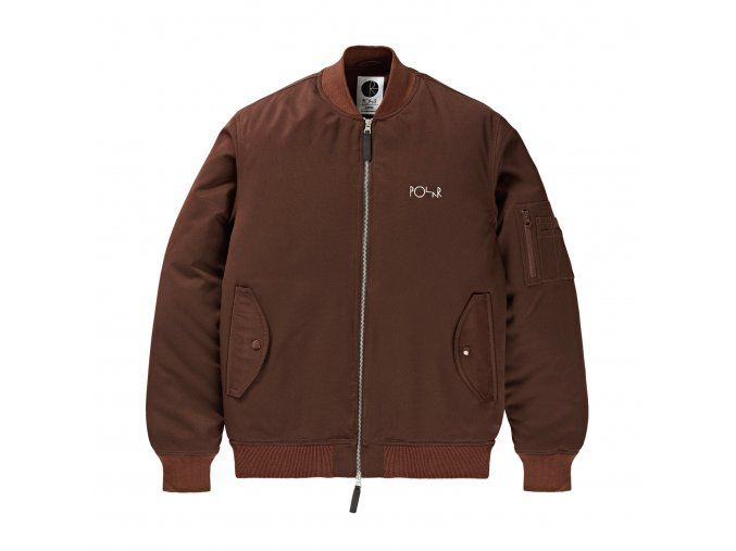 Bunda Polar Bomber Jacket Bronze
