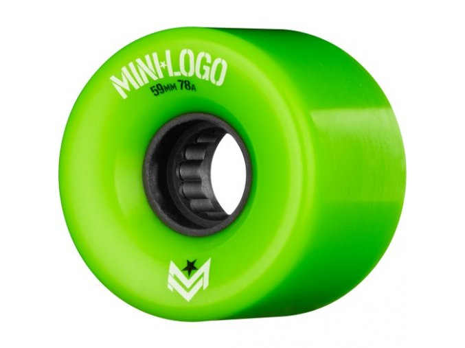 Kolečka Mini Logo A.W.O.L. A-cut Green 59 mm 78A