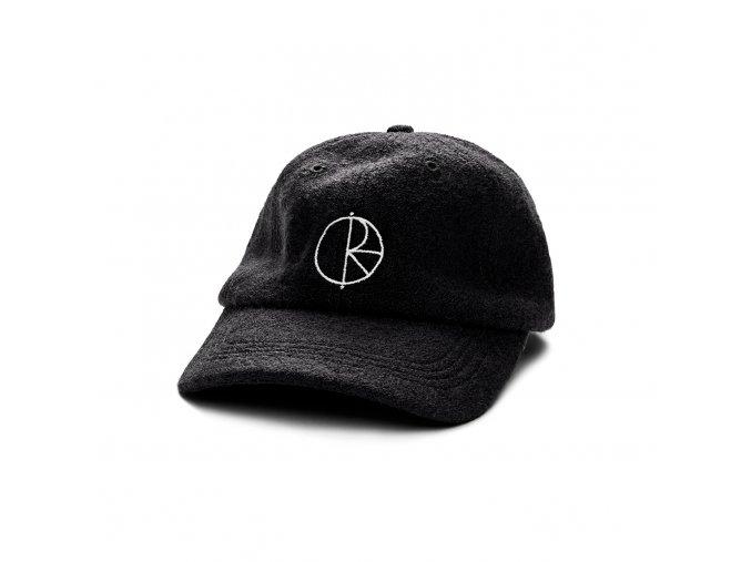 BOILED WOOL CAP BLACK 1