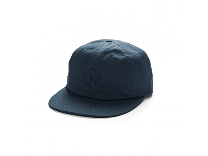 WAXED COTTON CAP BLUE 1