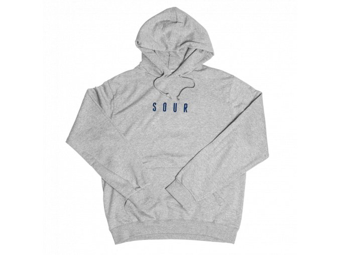 Mikina SOUR Army Embroidered Grey/Navy