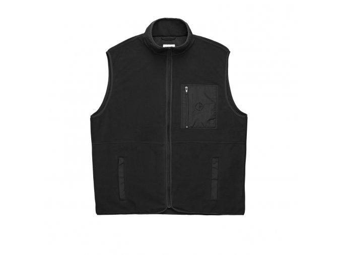 Vesta Polar Stenström Fleece Vest (Black/Black)