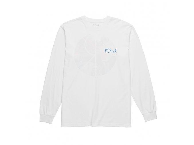 Triko Polar Orchid Fill Logo Longsleeve (White)