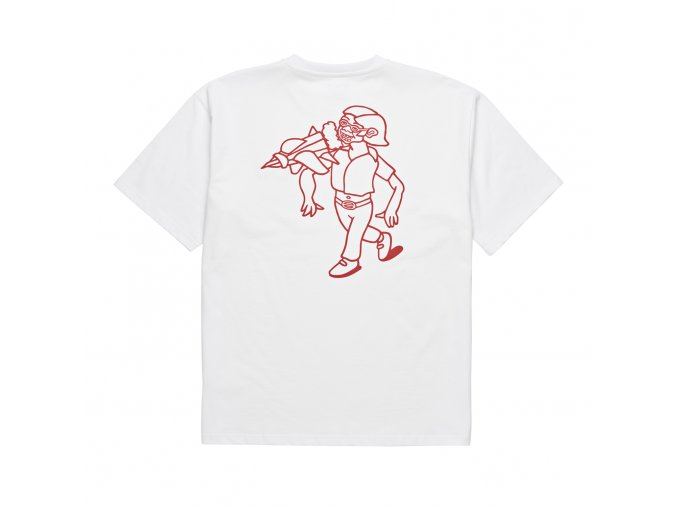 Triko Polar Rocket Man Tee (White)