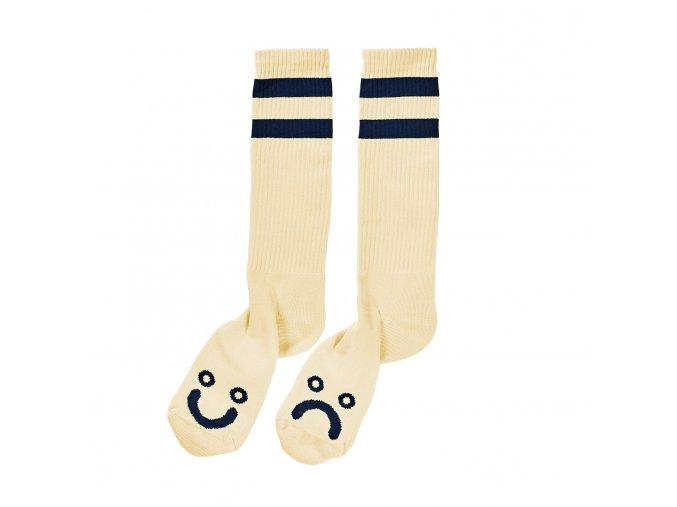 Ponožky Polar Happy Sad Socks (Pastel Yellow)