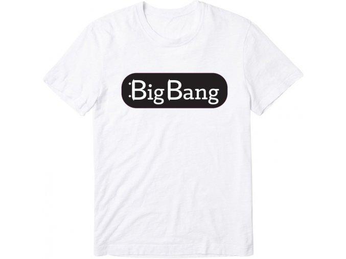 Triko BigBang Logo White