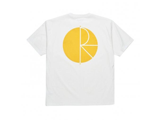 Triko Polar Fill Logo Tee White/Yellow