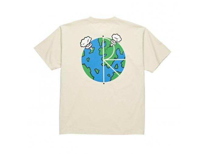 Triko Polar World Fill Logo Tee Sand