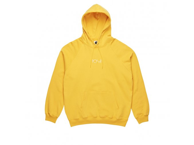 Mikina Polar Default Hood Yellow