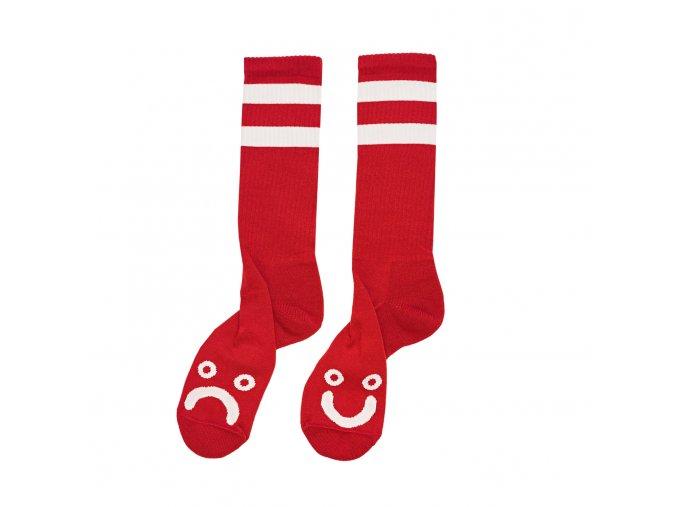 Ponožky Polar Happy Sad Socks Red