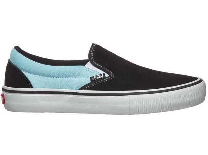 Boty Vans Slip-On Pro Asymmetry Black/Blue/Rose