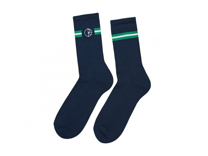 Ponožky Polar Stroke Logo Socks Navy/Green/White
