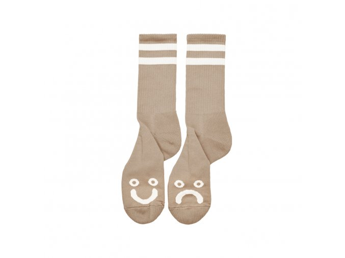 Ponožky Polar Happy Sad Socks Sand