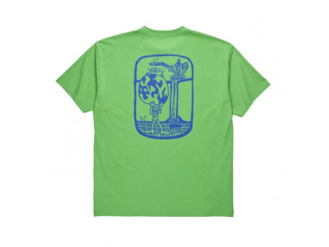 Triko Polar World Ending Tee Apple Green