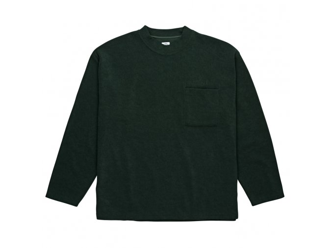 Triko Polar Terry Pullover Dark Green