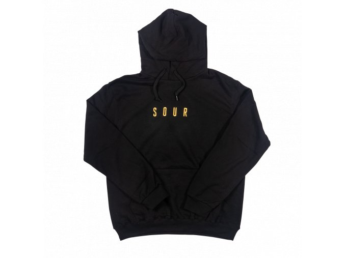 Mikina SOUR Army Hood Black/Embroidered Gold