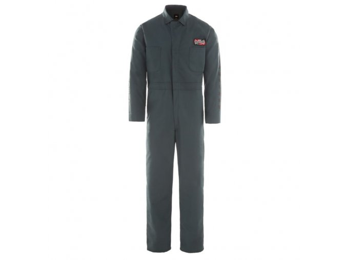 Montérky Vans x Independent Coveralls Pants Darkest Spruce