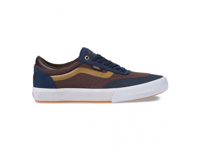 Boty Vans x Independent Gilbert Crockett Pro 2 Dress Blues/Demitasse