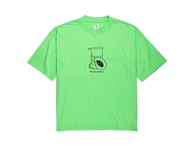 Triko Polar Toilet Surf Tee Summer Green