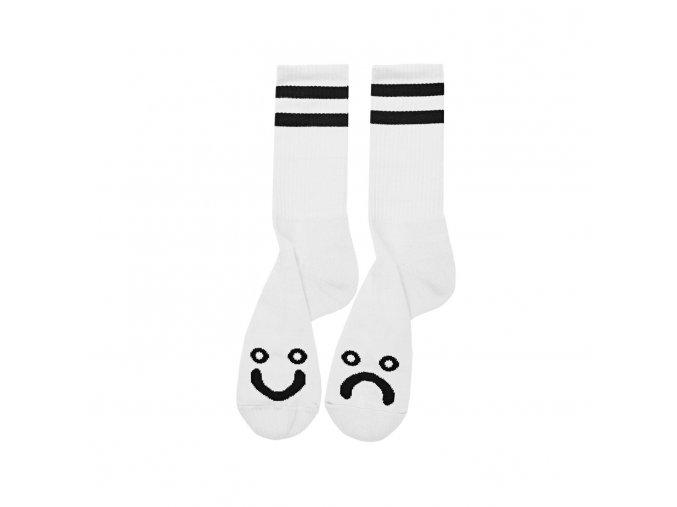 Ponožky Polar Happy Sad Socks White