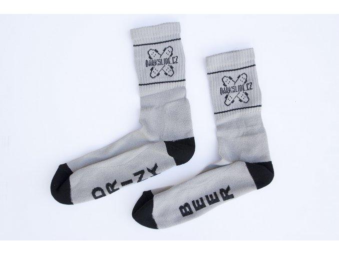 Ponožky Darkslide Mid Grey/Black