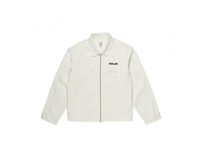 Bunda Polar Notes Denim Jacket Ivory