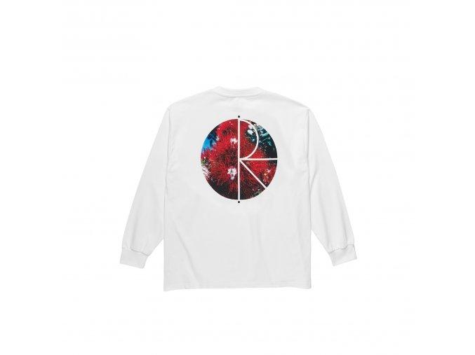Triko Polar Callistemon Fill Logo Longsleeve White