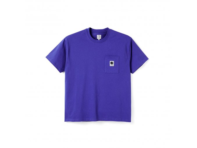 Triko Polar Pocket Tee Blueish Purple