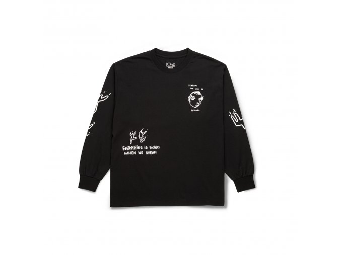 Triko Polar Notebook Longsleeve Black