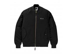 Bunda Polar Bomber Jacket Black