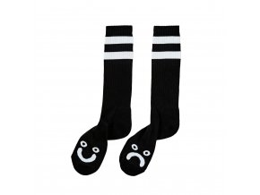 Ponožky Polar Happy Sad Classic Socks Black/White
