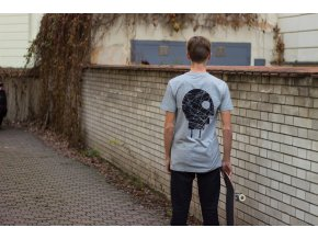 Triko Charge skateboards Scratches Grey