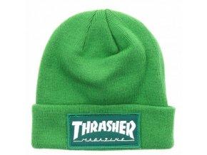 Kulich Thrasher Patch Beanie (Green)