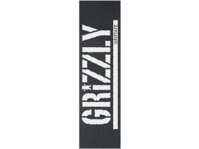 Grip Grizzly Oversized Stamp White (9 palců)