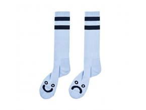 Ponožky Polar Happy Sad Classic Socks Pastel Blue