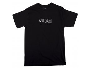 Triko Welcome Scrawl Tee Black/White