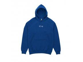 Mikina Polar Default Hood 80's Blue