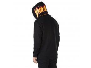 Mikina Vans x Thrasher Pullover Hoodie Black