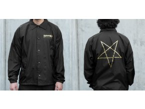 Bunda Thrasher Pentagram Coach Jacket (Black)
