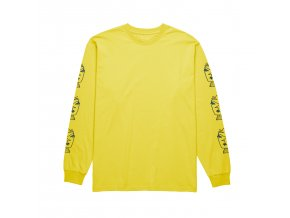 Triko Polar Heads Longsleeve Shock Yellow