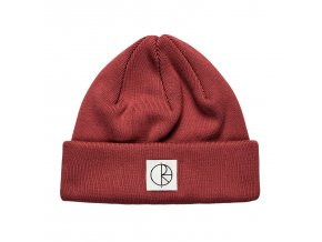 DOUBLE FOLD BEANIE BRICK RED