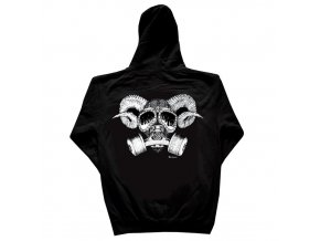 Mikina Confusion Goat Skull Black