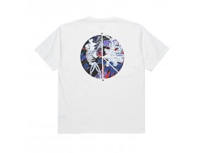 Triko Polar Skeleton Fill Logo Tee White