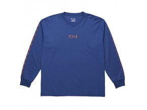 Triko Polar Racing Longsleeve 80's Blue