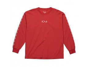 Triko Polar Racing Longsleeve Red