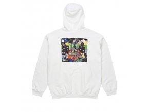 Mikina Polar Fountain Hood White