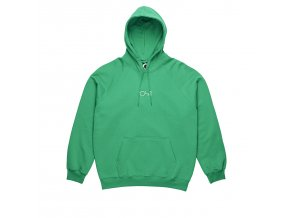 Mikina Polar Default Hood Green